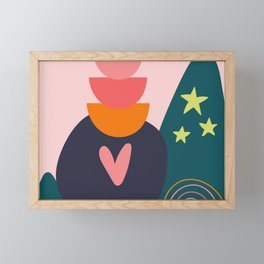 She Leads Framed Mini Art Print