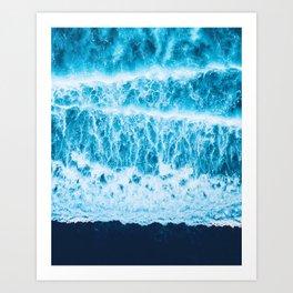 Ocean amour Art Print