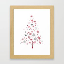 look closer, there's something hidden! Merry Christmas!  Framed Art Print