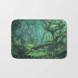 Forest of the Wise Bath Mat