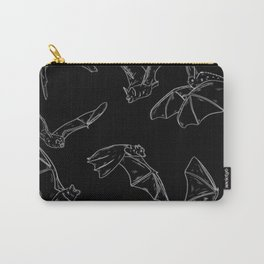 Flying Bats Pattern Carry-All Pouch