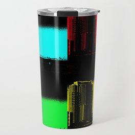 Miami Popart Panorama Travel Mug