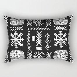 Signs. Rectangular Pillow