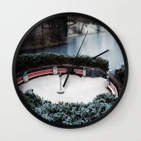 oslo Wall Clocks featuring Oslo by Infra_milk