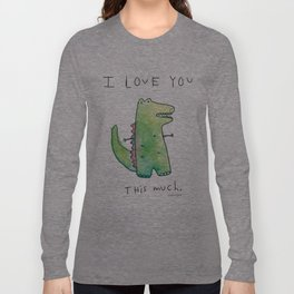 This Much Long Sleeve T-shirt