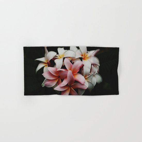 Flowers In The Dark Hand & Bath Towel