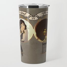 The Bird or the Cage Travel Mug