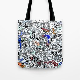 Retro Kamasutra LOVE Doodle  Tote Bag