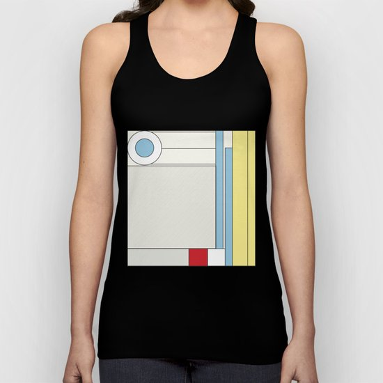 from chaos to order Unisex Tank Top