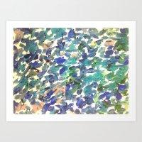 sandlake Art Print
