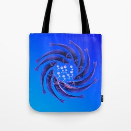Fishes Dancing Tote Bag