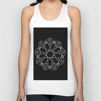 sacred geometry Tank Tops featuring Sacred Geometry Print 2 by poindexterity