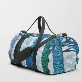 The forest of fireflies Duffle Bag