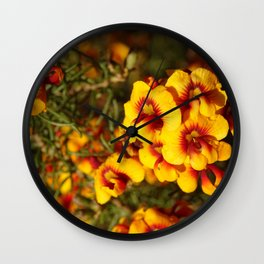 Parrot Pea Wall Clock