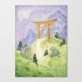 Torii Portal Canvas Print