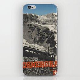 Vintage poster - Switzerland iPhone Skin
