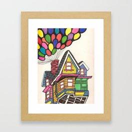 Up,Up & Away  Framed Art Print