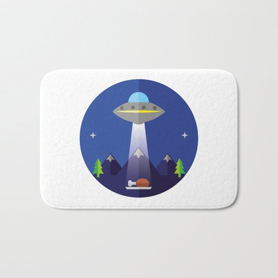 UFO Bath Mat