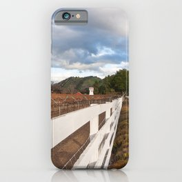 Carmel Valley Winery iPhone Case