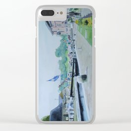Stoke Bruerne Clear iPhone Case