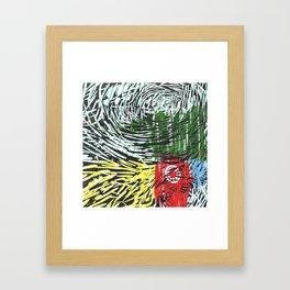 Colorful World Framed Art Print