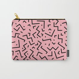 Memphis pattern 34 Carry-All Pouch