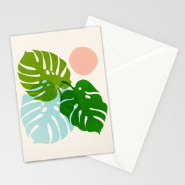 Abstraction_FLORAL_NATURE_Minimalism_001 Stationery Cards