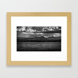 View From Cape Mudge - Canada Framed Art Print