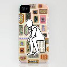 Thinking Man iPhone (4, 4s) Slim Case