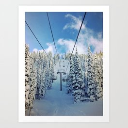 Chairway to Heaven Art Print