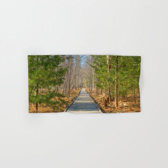 Jesup Boardwalk Trail Hand & Bath Towel