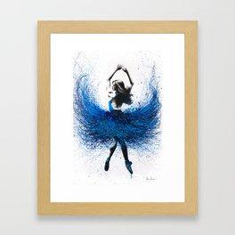 Grace Ballerina Framed Art Print
