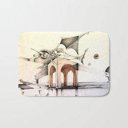 Dimensional Rift Bath Mat