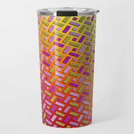 Braided polygons Travel Mug