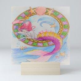 magical merm Mini Art Print