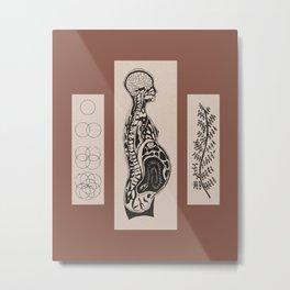 Fertile Fields (Terracotta) Metal Print
