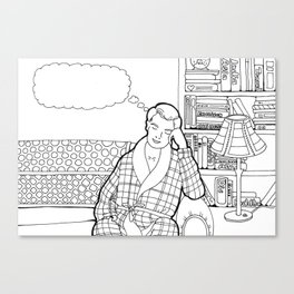 Color Me: Party Moments Two Canvas Print