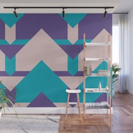 Glow Way #society6 #glow #pattern Wall Mural