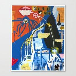 Pog Afterlife (Panel #5) Canvas Print