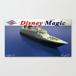 Minecraft - Operation Infinite Ocean - Disney Magic Canvas Print