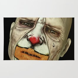Behind The Mask - The Tears of a Clown Rug