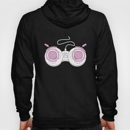 Womens Boob Controller Funny Joke Adult Gamer FITTED Birthday Gift Beer Hoody