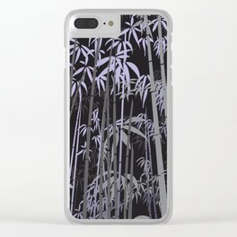 Bamboo XIII Clear iPhone Case