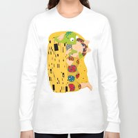 muppets Long Sleeve T-shirts featuring Klimt muppets by tuditees