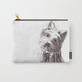 Bon Bon - the cat-like dog Carry-All Pouch
