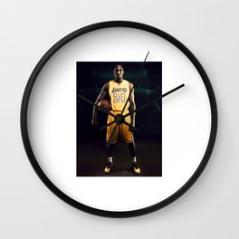 rest in peace 24 Wall Clock