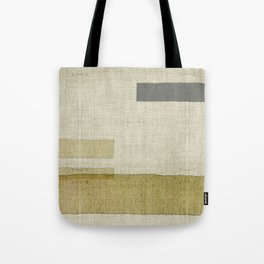 """""""Burlap Texture Natural Shades"""" Tote Bag"""