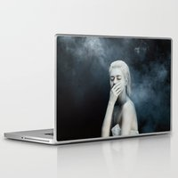 fear Laptop & iPad Skins featuring Fear by Jovana Rikalo