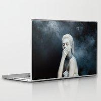 fear Laptop & iPad Skins featuring Fear by Jovana Rikalo