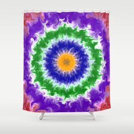 Tie dye 2 Shower Curtain